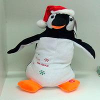Pinguim de Natal Dançante.