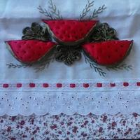 pano de prato decorativo
