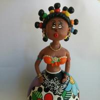 Boneca em Cabaça Grande