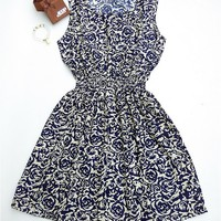 Vestido Floral Chiffon