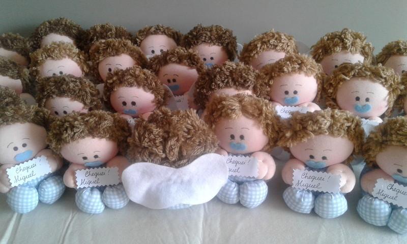 Anjinho nascimento bonecos lembrancinhas
