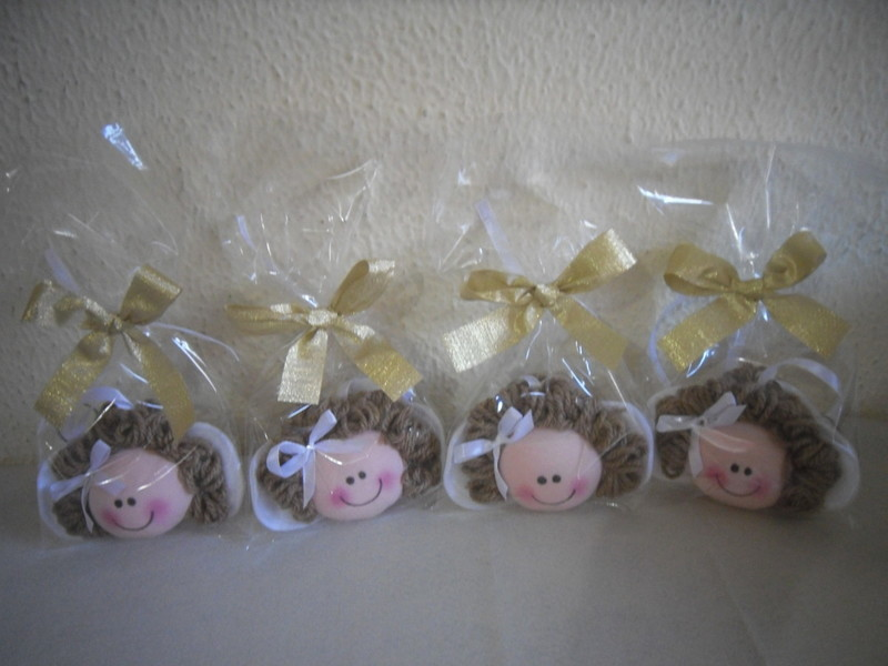 Chaveiros bonecas chaveiros para batizado