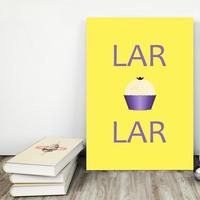 """Placa decorativa MDF """"Lar Doce Lar"""" (cód. 3566)"""