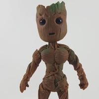 Boneco Groot Guardiões Das Galáxias Funko Pop Biscuit