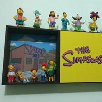 Prateleira Os Simpsons ( 3 peças )