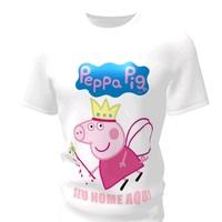 Camiseta Camisa Blusa Personalizada Peppa Pig
