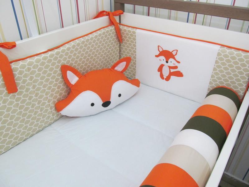 Almofada de raposa decoracao