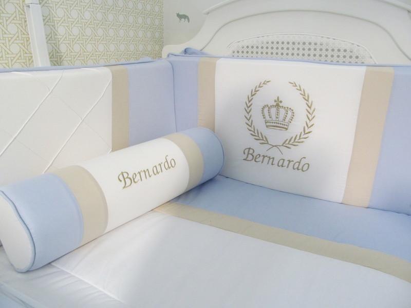 Kit berco bernardo 9 pecas kit de berco personalizado