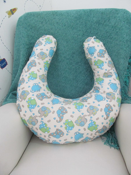 Almofada de amamentacao elefante almofada de amamentacao