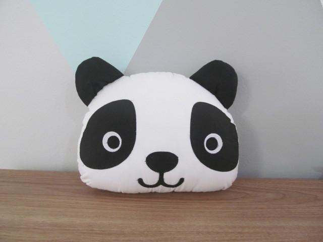 Almofada decorativa panda panda