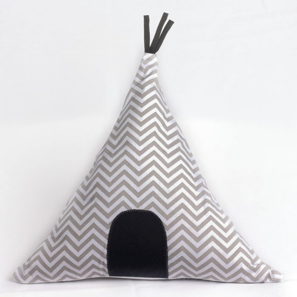 Almofada formato cabana cabana