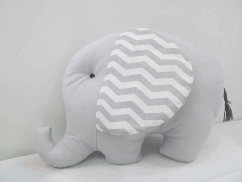 Almofada formato de elefante almofada de elefante