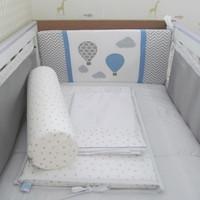 Kit de berço Respirável balões - 9 pçs