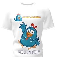 Camiseta Camisa Blusa Personalizada Galinha Pintadinha