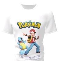Camiseta Camisa Blusa Personalizada Pokemon