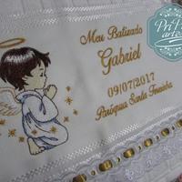 Toalha de Batizado Menino