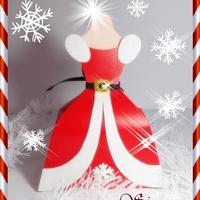 Vestidos caixinhas   Natal