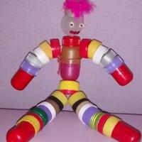 Bonecos Multicoloridos