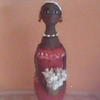 Boneca Florista Decorativa