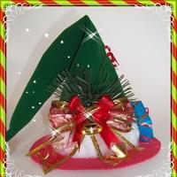 Gorro Natalino Veludo - Natal