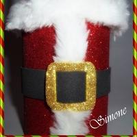 Latinha decorada Natal