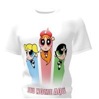 Camiseta Camisa Blusa Personalizada Meninas Super Poderosas