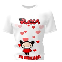 Camiseta Camisa Blusa Personalizada Pucca