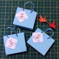 10 Mini sacolinha com tags