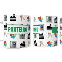 Caneca Porcelana Porteiro Personalizada Com Nome