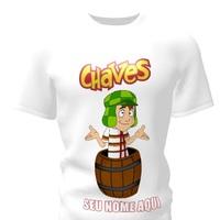 Camiseta Camisa Blusa Personalizada Chaves Chapolim