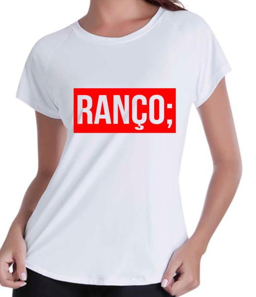 Camiseta feminina ranco baby look ranco