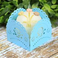 Forminhas para doces azul turquesa M2