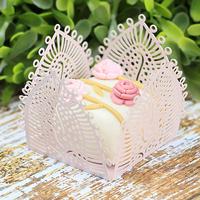 Forminhas para doces rosa seco M12