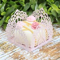Forminhas para doces rosa seco M13