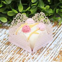 Forminhas para doces rosa seco M17