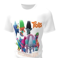 Camiseta Camisa Blusa Personalizada Trolls