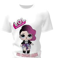 Camiseta Camisa Blusa Personalizada LOL Surprise Cartoon