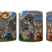 Caneca Clash Royale Porcelana 325ml