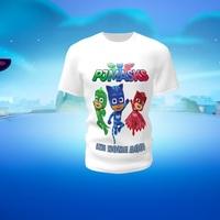 Camiseta Camisa Blusa Personalizada PJ Masks