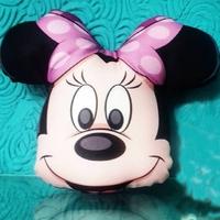Almofada Minnie - Mini almofada para lembrancinha