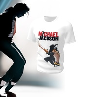 Camiseta Camisa Blusa Michael Jackson