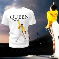 Camiseta Camisa Blusa Queen Fred Mercury