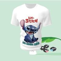 Camiseta Camisa Blusa Personalizada Lilo e Stitch