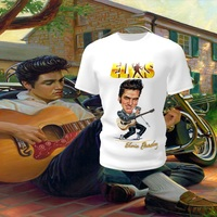 Camiseta Camisa Blusa Elvis Presley