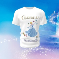 Camiseta Camisa Blusa Personalizada Disney Cinderela
