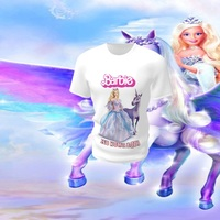 Camiseta Camisa Blusa Personalizada Barbie