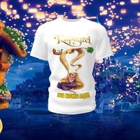 Camiseta Camisa Blusa Personalizada Rapunzel