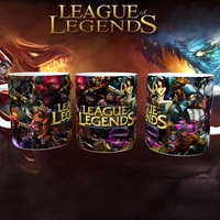 Caneca League of Legends Porcelana 325ml