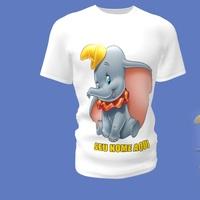 Camiseta Camisa Blusa Personalizada Dumbo