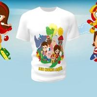 Camiseta Camisa Blusa Personalizada Sítio do Picapau Amarelo